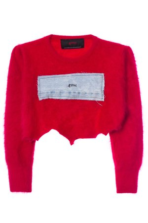VFILES SHOP | CROPPED WOOL SWEATER by @SamiMiroVintage