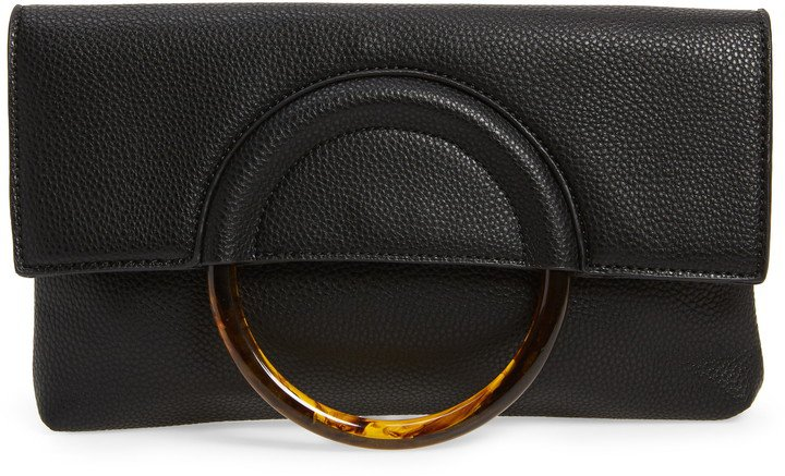 Ring Handle Classic Clutch