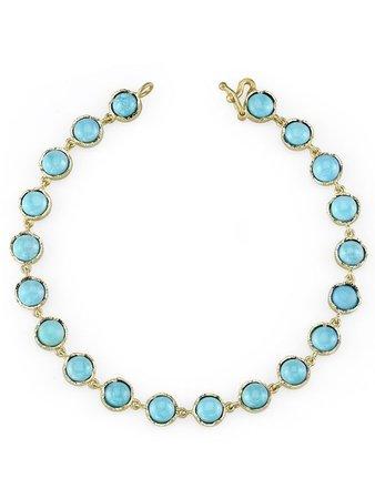 Irene Neuwirth Turquoise Bracelet Continuity | Farfetch.com
