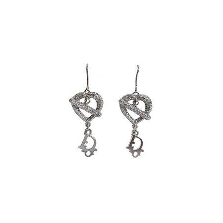 INTO IT ( ¤̴̶̷̤́ ‧̫̮ ¤̴̶̷̤̀ ) sur Instagram: Christian Dior Heart Iced Dior Earrings Price: 310 USD Purchase on website or Tap to Shop #archive #repurpose #luxury #lux #earrings…