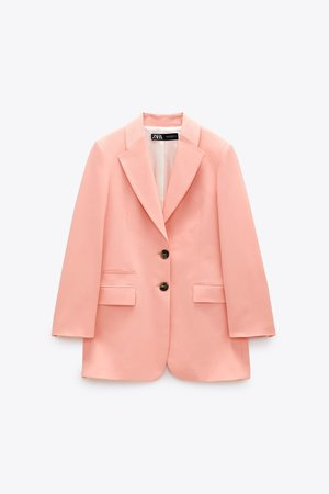 LONG BUTTONED BLAZER | ZARA United States
