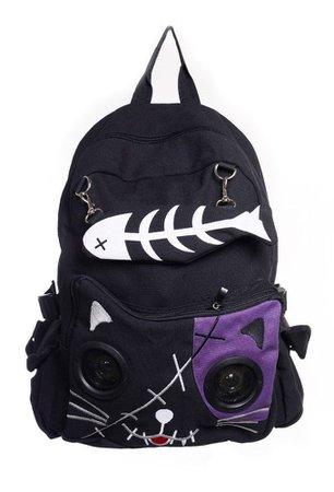 emo purple backpacks - Google Search