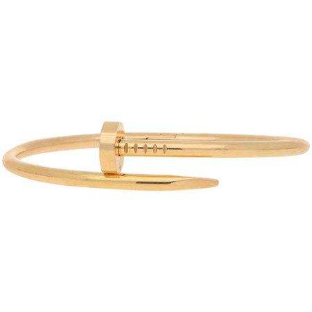 Cartier Juste Un Clou Nail Bangle in 18 Karat Rose Gold