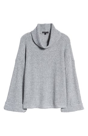 GIBSONLOOK Flare Sleeve Cowl Neck Sweater | Nordstrom