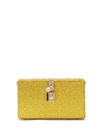 Dolce & Gabbana crystal-embellished clutch - FARFETCH