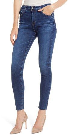 Farrah High Waist Ankle Skinny Jeans