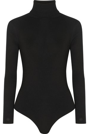 LOULOU STUDIO | Galora wool-blend turtleneck bodysuit | NET-A-PORTER.COM