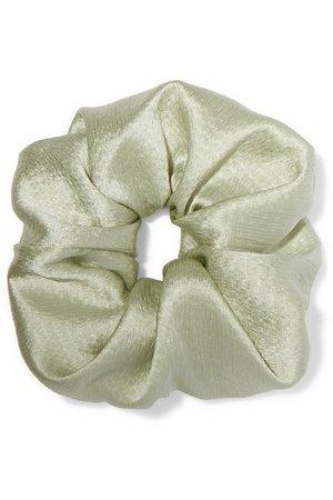 Jennifer Behr | Hammered silk-satin hair tie | NET-A-PORTER.COM