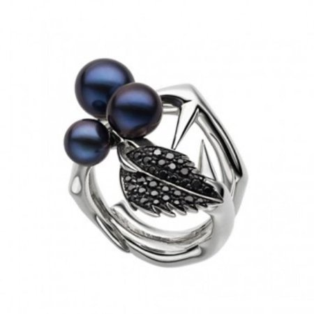 blackthorn silver ring