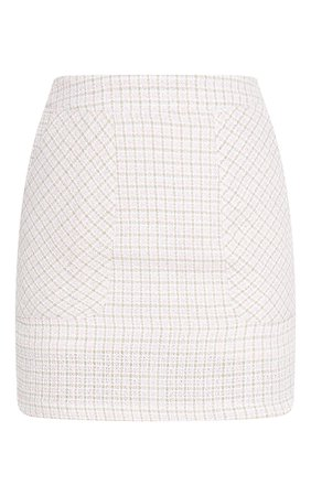Pink Tweed Pocket Detail Mini Skirt | Skirts | PrettyLittleThing USA