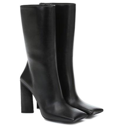 Moon Leather Boots - Balenciaga | Mytheresa