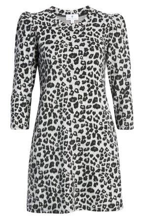 Socialite Leopard Knit Minidress | Nordstrom