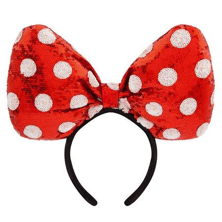 Minnie Mouse Bow Headband
