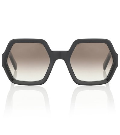 Hexagonal Sunglasses | Celine Eyewear - Mytheresa