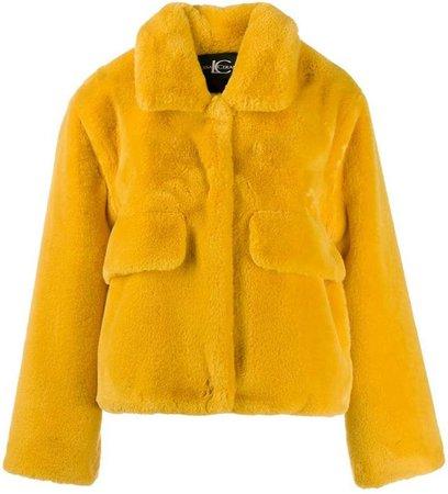 Luisa Cerano Teddy faux-fur jacket