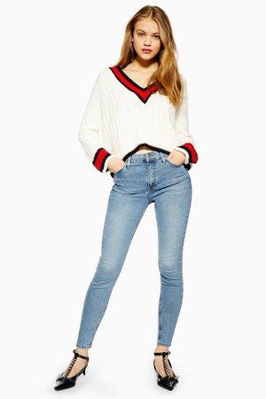 Bleach Jamie Jeans | Topshop