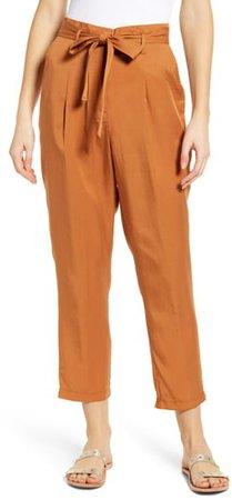 Rita Tie Waist Crop Pants