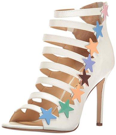 Amazon.com | Katy Perry Women's The Stella Heeled Sandal | Heeled Sandals