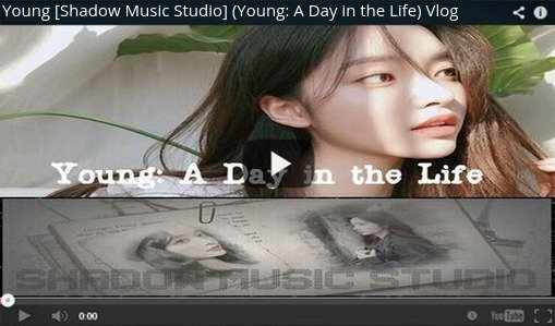 STYLE [Shadow Music Studio] Youtube Video (Young: A Day in the Life)  Vlog