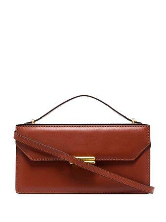 Manu Atelier Jackie Leather Shoulder Bag - Farfetch