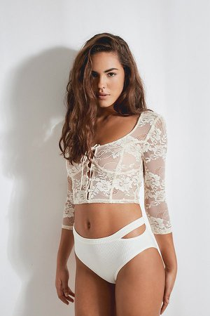Out From Under Chira Lace Top