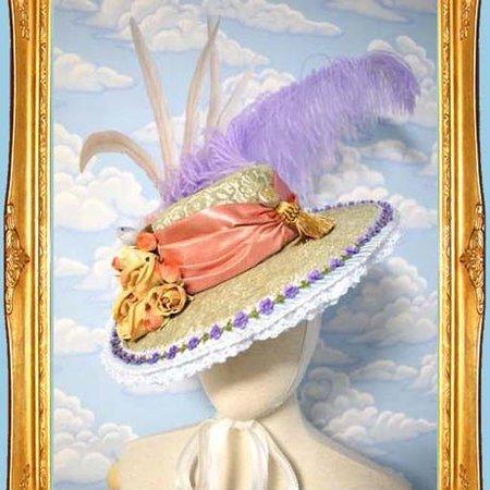 Spring and Birds Dress Hat - Kikirara Shoten