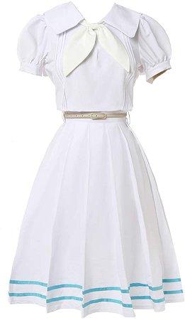 Amazon.com: NSPSTT Women Girls Haru Cosplay Costume Japanese Anime Cosplay Costume School Uniform Dress: Clothing