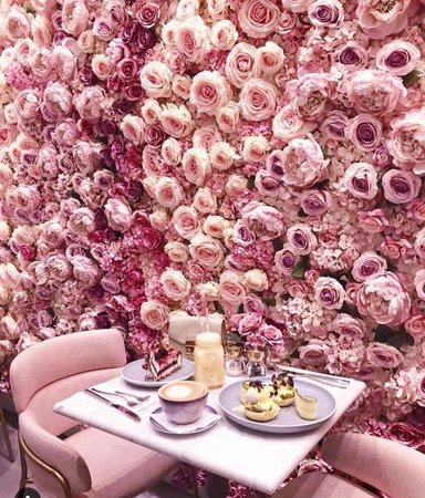 pink flower cafe