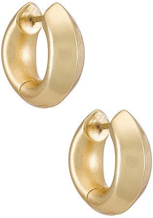 Mikki Metal Huggie Earring
