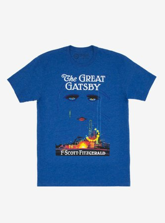 The Great Gatsby Book Cover T-Shirt