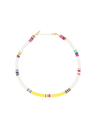 ALLTHEMUST gold-plated Beaded Necklace - Farfetch
