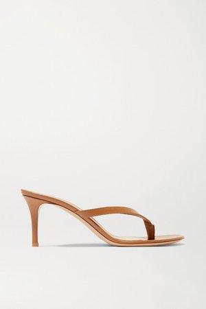 Calypso 70 Leather Sandals - Tan