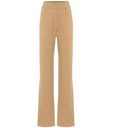 Extreme Cashmere - Wide-leg cashmere lounge pants | Mytheresa