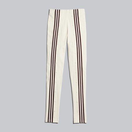 adidas IVY PARK Snap Track Pants - Beige | adidas US