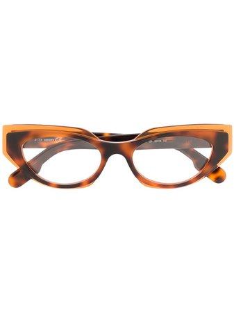 Kenzo cat-eye Acetate Glasses - Farfetch
