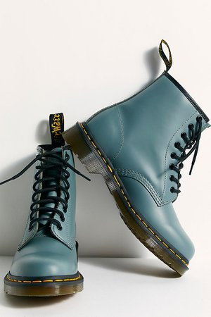 Dr. Martens 1460 Smooth Lace-Up Boots | Free People