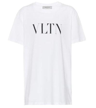 VLTN printed cotton T-shirt