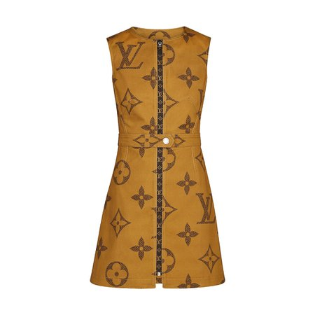 Monogram Giant Print Dress - Ready-to-Wear | LOUIS VUITTON ®