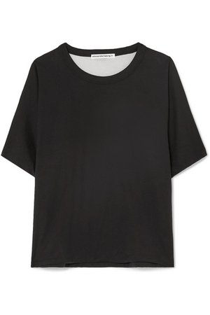 alexanderwang.t | Reversible cotton-jersey T-shirt | NET-A-PORTER.COM