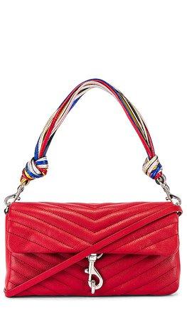 Rebecca Minkoff Edie Baguette Bag in Paprika | REVOLVE