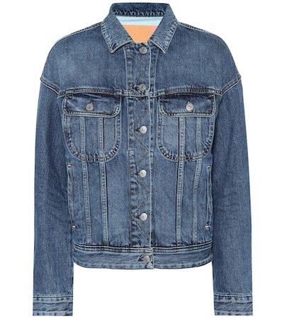 Blå Konst denim jacket