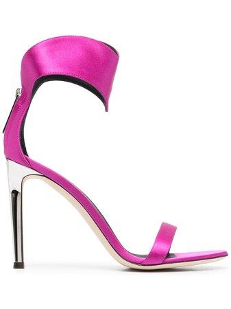 Giuseppe Zanotti 105mm leather sandals - FARFETCH