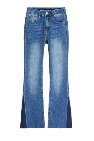 Cropped Flared Jeans Gr. DE 36