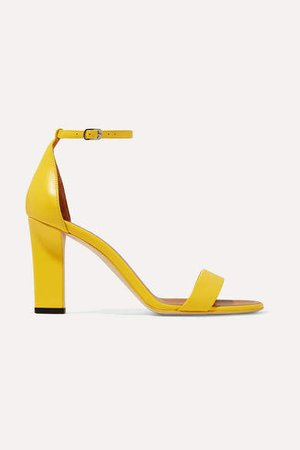 Leather Sandals - Yellow