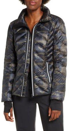 Reflective Down Puffer Jacket