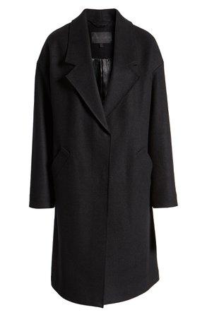 KENDALL + KYLIE Brushed Coat | Nordstrom