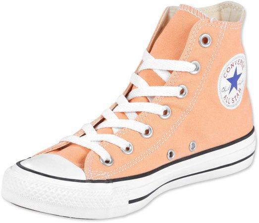 peach high top converse - Google Search