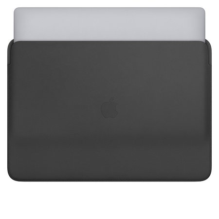 Leather Sleeve for 16-inch MacBook Pro – Black - Apple