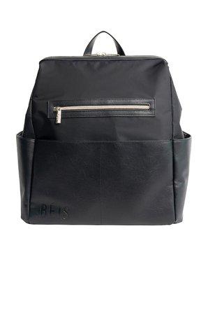 BEIS Backpack Diaper Bag in Black   REVOLVE