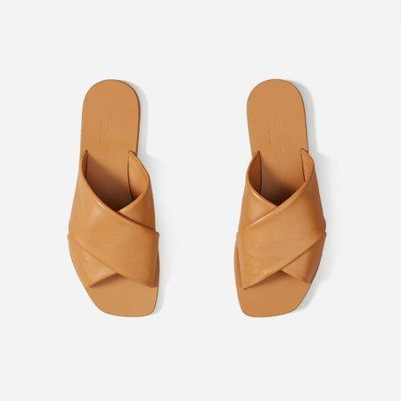 Women's Day Crossover Sandal | Everlane beige